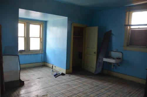Closet and dormer window bay