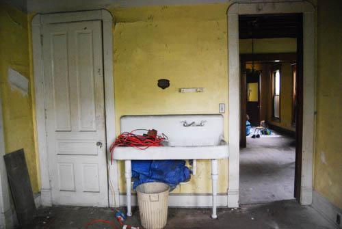 A nice antique sink