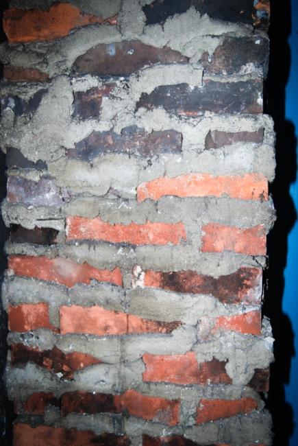 Unattractive brick