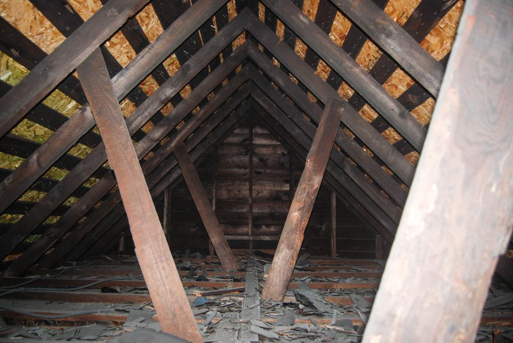 The original loft space