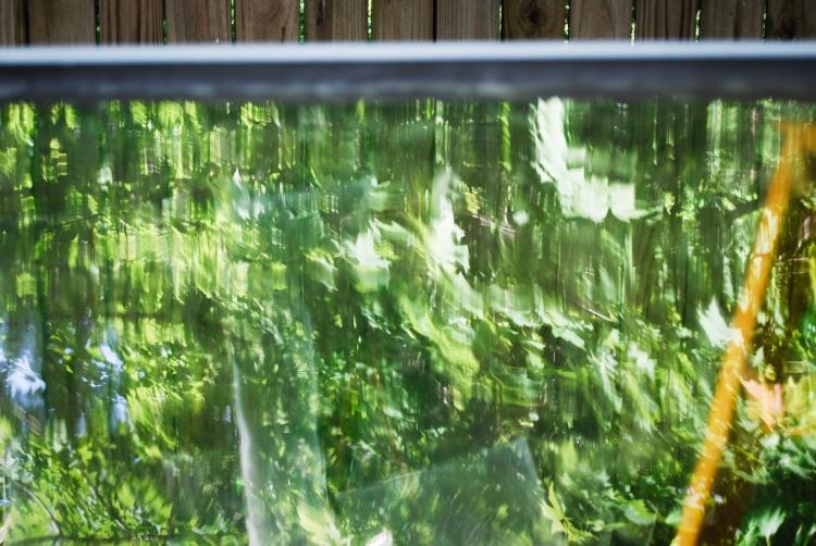 Wavy glass