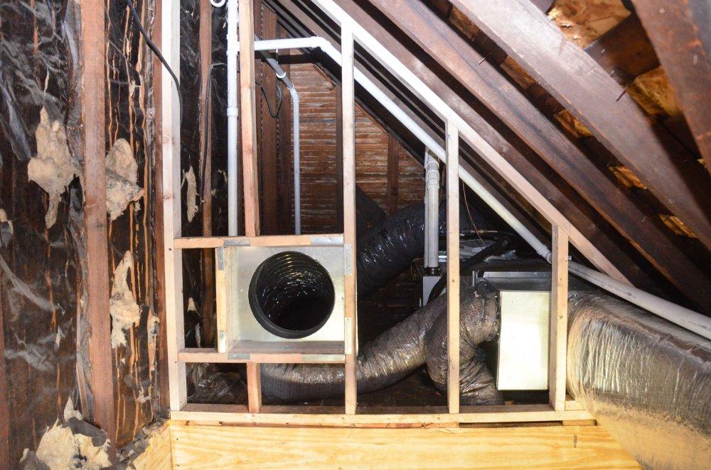 furnace for 2nd floor