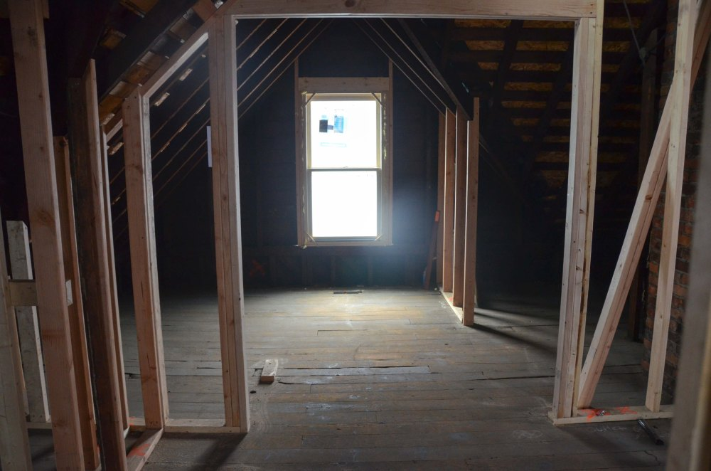 New window, new doorway framing
