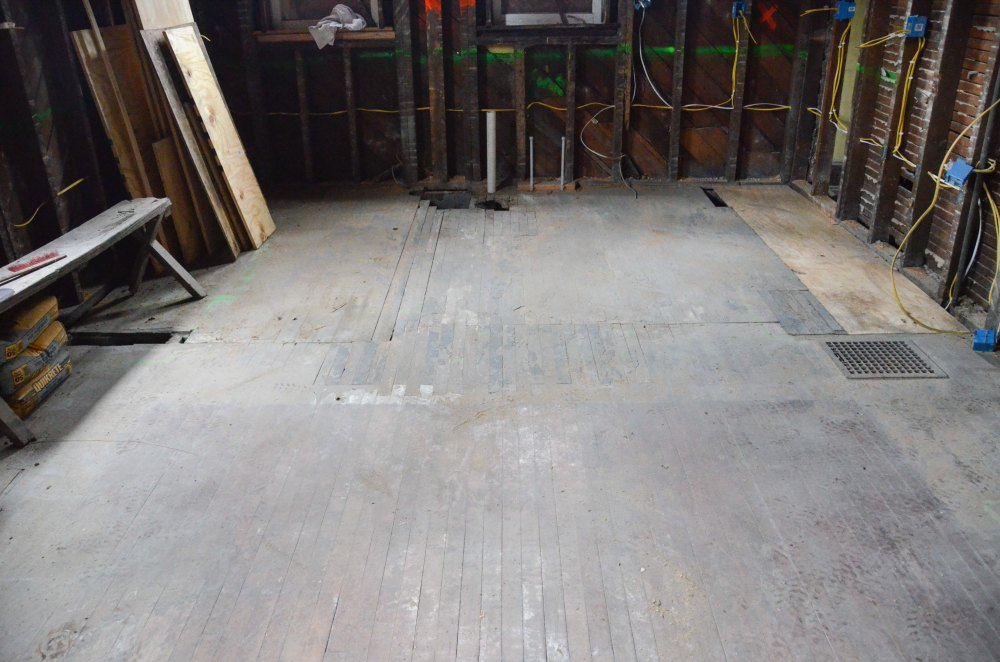 """Our """"new floor"""""""