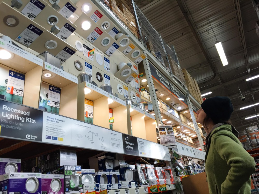 Forever pondering the endless options for recessed lighting
