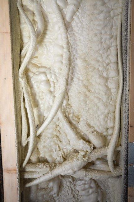 After the skim-coat, before the fiberglass