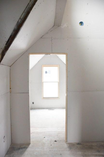 Looking into Aiden's door