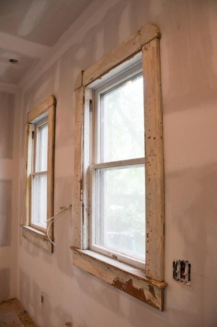 south windows