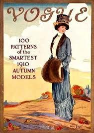 Vogue Magazine from 1910