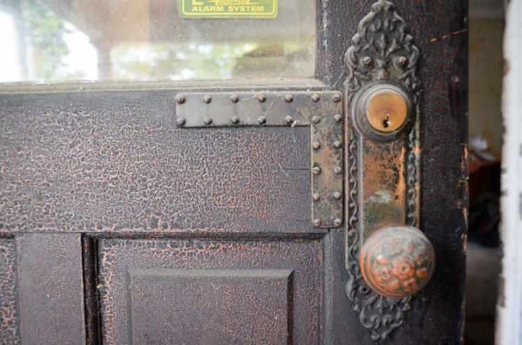 Front door knob