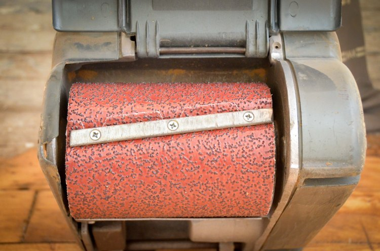 20 grit on the roller
