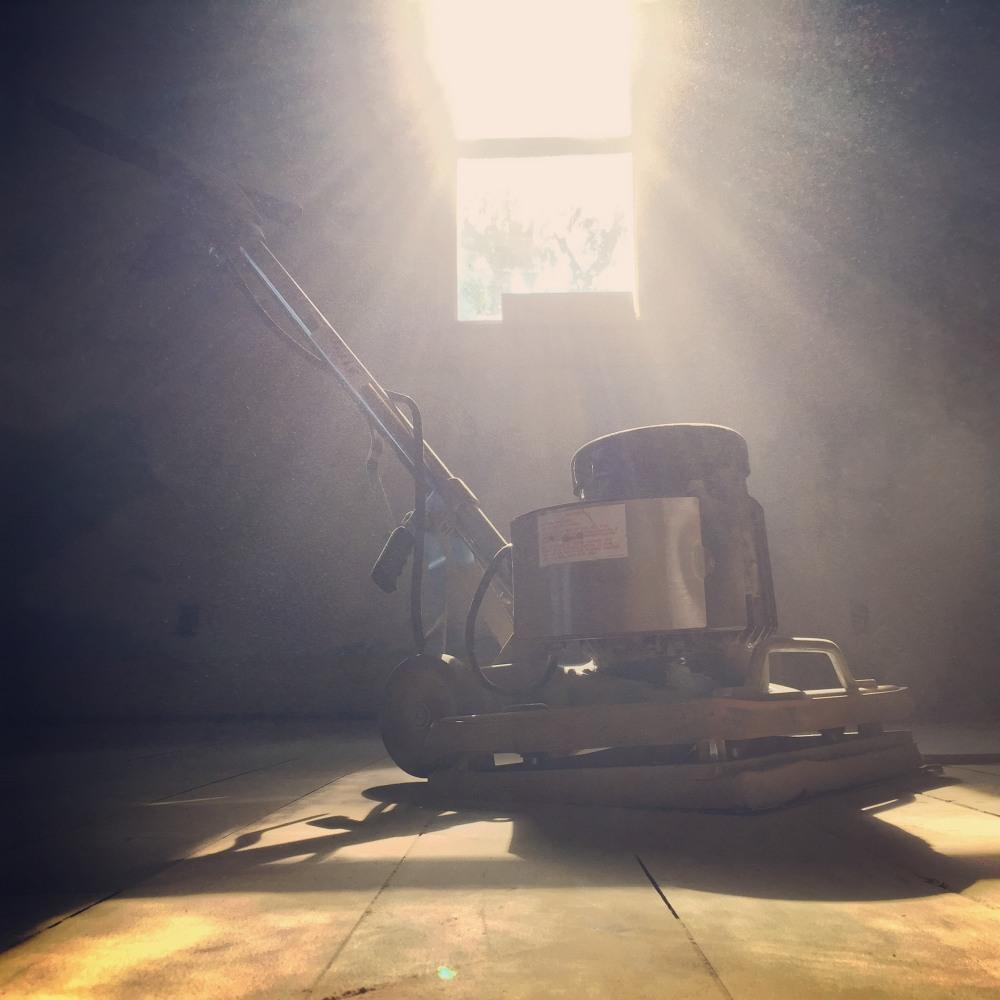 The orbital sander