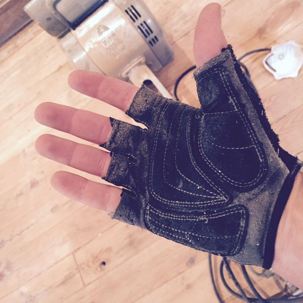 Mountain biking gloves!