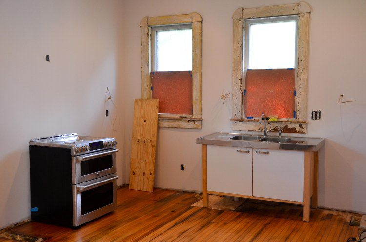 Piecing together a kitchen