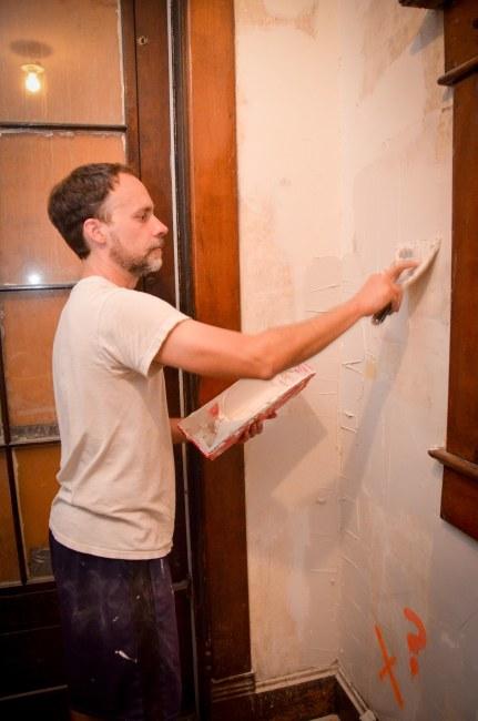 Repairing the vestibule