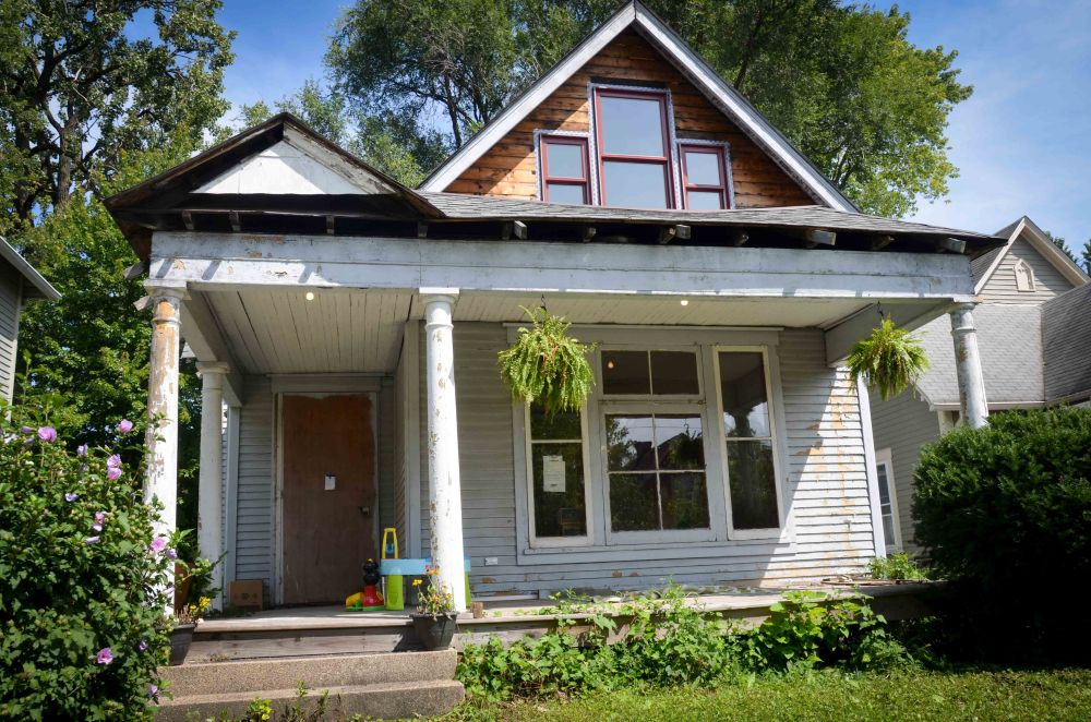 Slightly more curb appeal with clean windows
