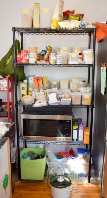 """Our """"pantry"""""""