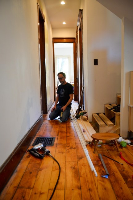 Re-using old baseboards