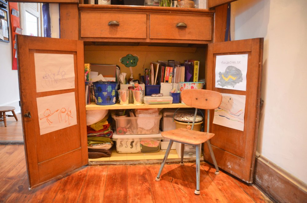 Lucy's creativity station